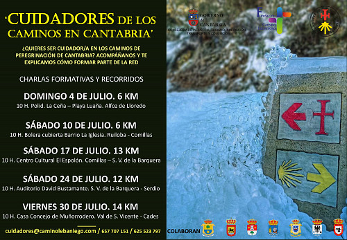 CUIDADORES DE LOS CAMINOS EN CANTABRIA