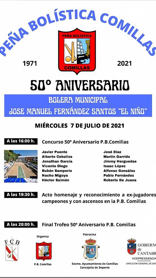 50 Aniversario Peña Bolística de Comillas