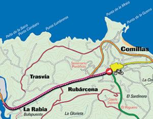 Ruta 2: El Carril-bici de Comillas a la Ría de Rabia
