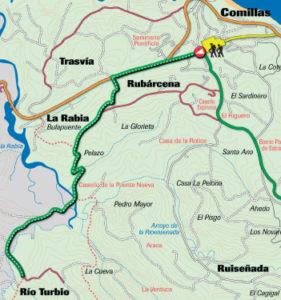Ruta 3: De Comillas, a Rioturbio