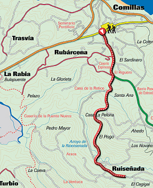 Route 4: From Comillas to Ruiseñada