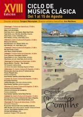 CAPRICHOS MUSICALES – XVIII Ciclo de música clásica