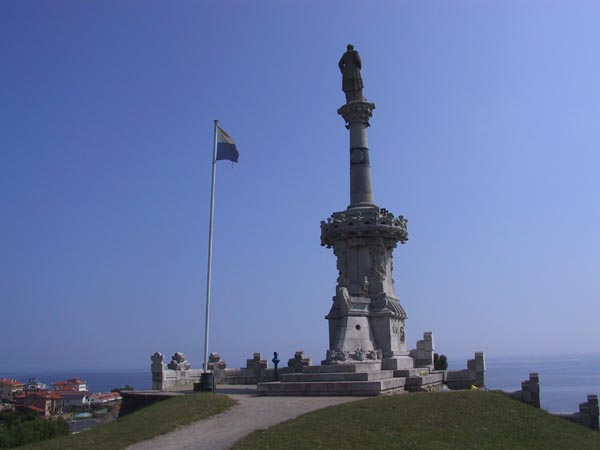 The Statue of the Marquis of Comillas