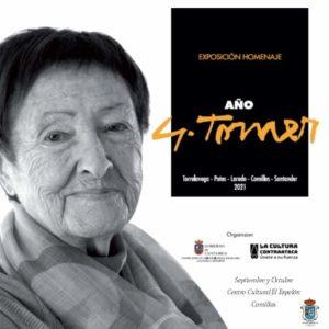 Exposición homenaje AÑO GLORIA TORNER