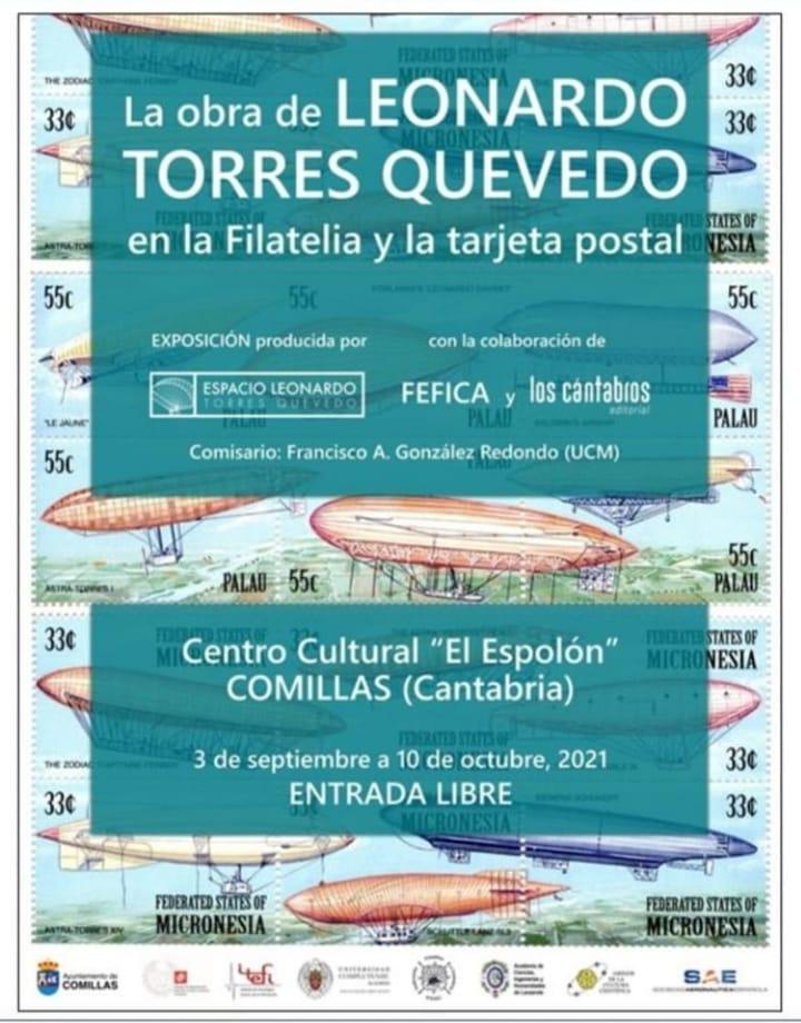 La obra de LEONARDO TORRES QUEVEDO en la Filatelia y la tarjeta postal