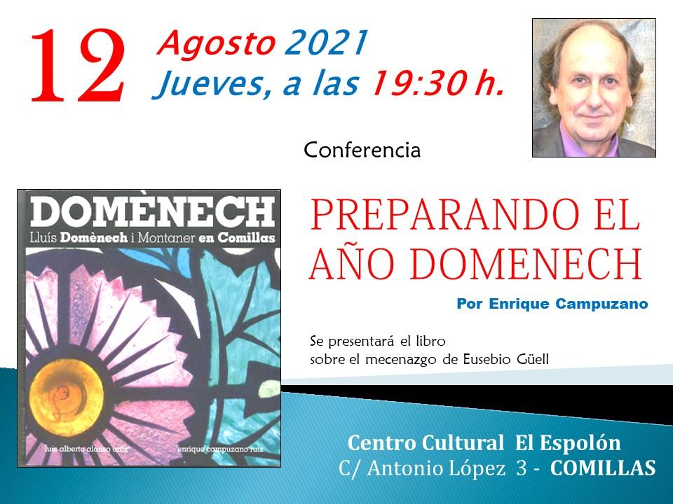 CONFERENCIA PREPARANDO EL AÑO DOMENECH